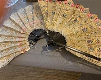 Handmade Oriental Fans