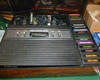 Atari w/22 games & their boxes (not shown)