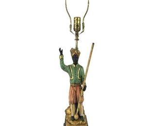 Blackamoor Lamp