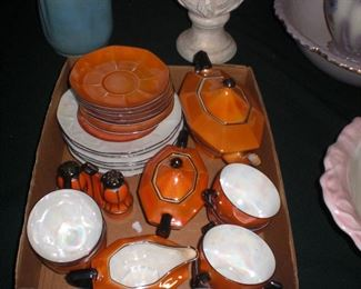 bavarian art deco tea set