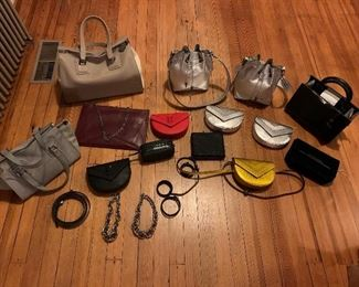 New Alexandra Clancy Italian bags and accessories