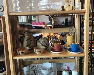 Scandinavian pottery and glass