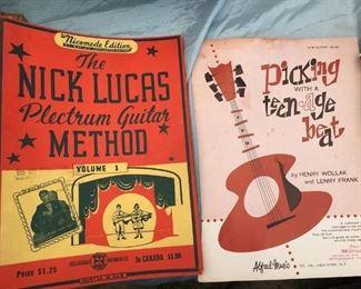 Ephemera and music books