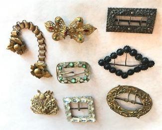 Antique buckles