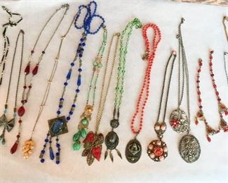 Exceptional collection of 1900s-1920s Czech jewlery