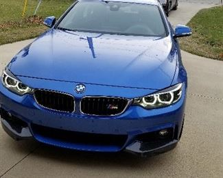 2018 BMW 430i X-Drive Gran Coupe Twin Turbo, only 12,488 miles (loaded with options)
