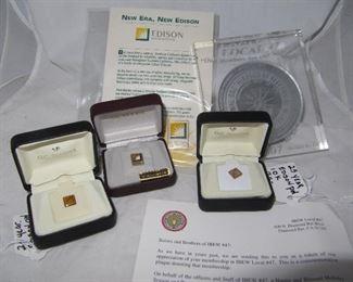 Southern California Edison 10k pins