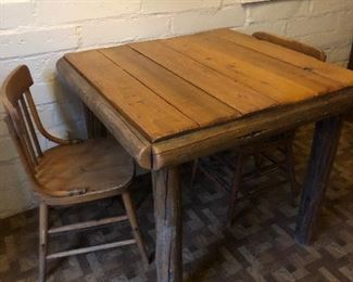 Small guest house table
