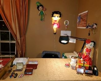 BETTY BOOP ITEMS ARE NOT FOR SALE...