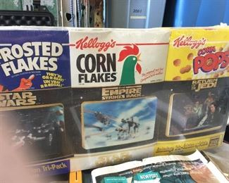 Star Wars Collectible Cereal boxes