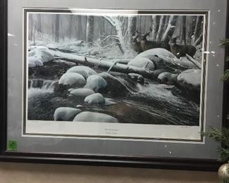 Michael Glenn Monroe signed lithograph