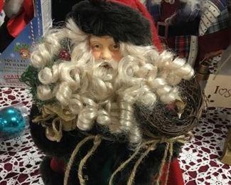 Santa tree-topper