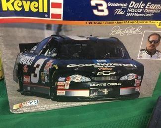 NASCAR Dale Earnhart NIB cars