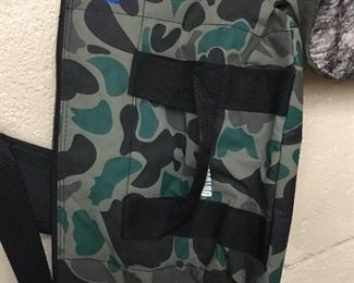 Camouflage hunting gear and bags