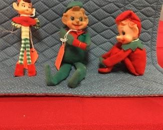 Vintage Knee-hugger elves