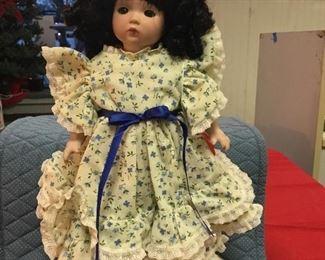 Ashton Drake Porcelain dolls