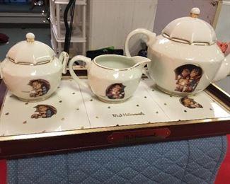 Hummel Tea Tray