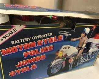 NIB Vintage motorized battery operated toys