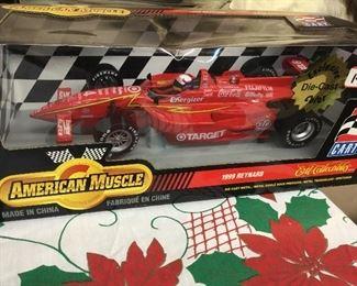 NIB racing car collectible toys
