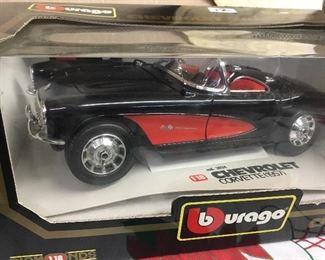 NIB racecar collectible toys