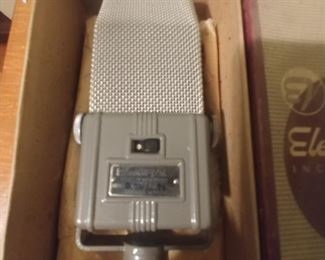 Electro Voice microphone V3 in mint condition with box