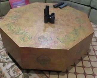 8 sided table