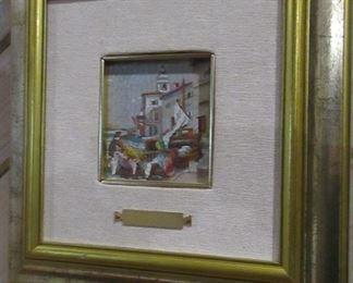 original mosaic signed