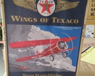 Wings if Texaco.  Waco Straightwing 1929 Waco ASO