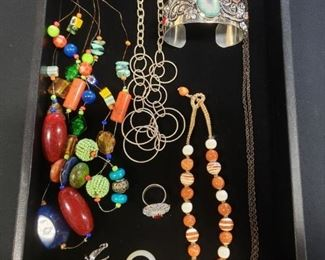 Costume Jewelry by the tray lot