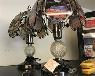 nascar touch lamps