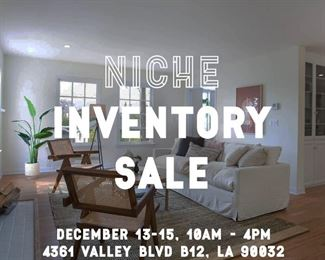 Staging Company Inventory Sale