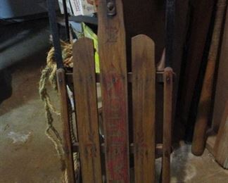 antique sled