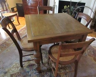vintage Pub table and chairs