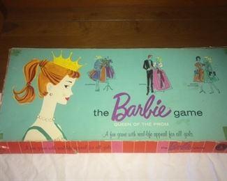 vintage barbie game