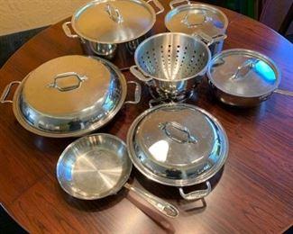 Set of All Clad cookware https://ctbids.com/#!/description/share/293095