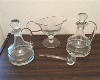 Glass Cruets and Gravy Boat https://ctbids.com/#!/description/share/294806