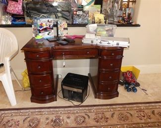 Hooker Desk with Toys