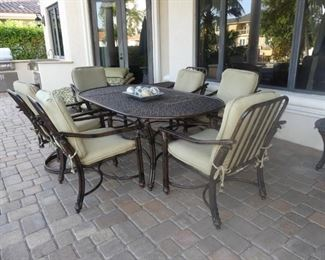 Castelle Patio Dining Set