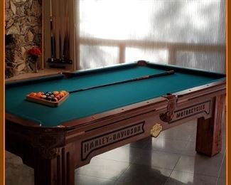 Harley Davidson Motorcycle pool table