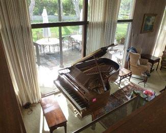 Steinway model A3 grand piano