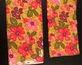 Yardage of vintage fabric