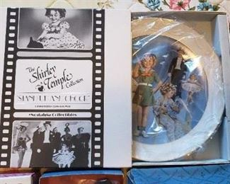 Shirley Temple plate
