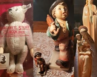 Steiff Teddy Bear, Goebel Figures