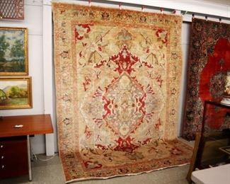"Handmade Persian style rug, 7' 10"" x 11'3"""