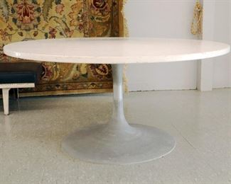 Knoll Marble top table, 54""
