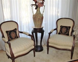 HICKORY PARLOR CHAIRS