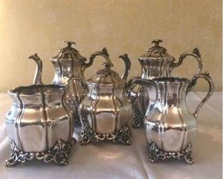 Reed and Barton Tea Set