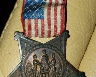 GAR 1866 Medal