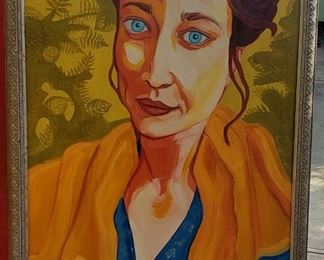 Large portrait of Fiona Apple by Patricia Knop