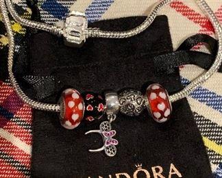 Minnie Pandora Charm